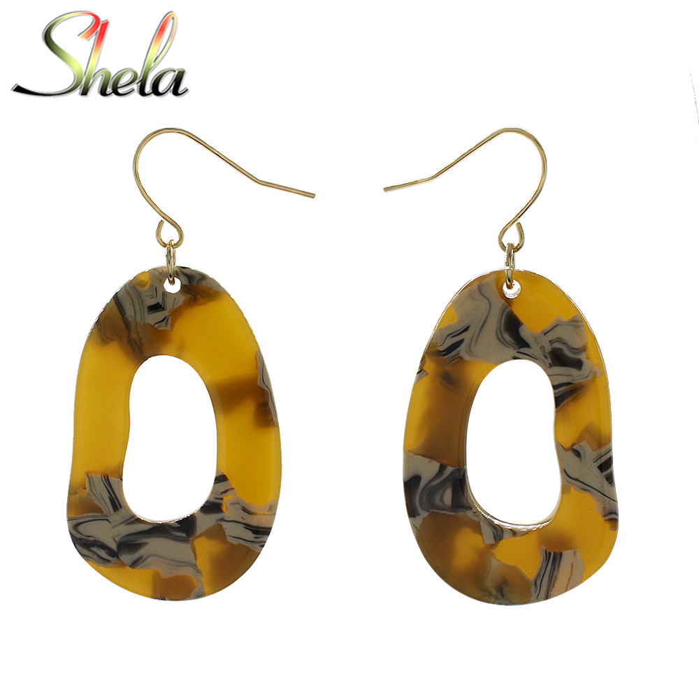 Acrylic Bird Drop Statement Earrings Freedom Swallow Stand Out Fashion Jewelry
