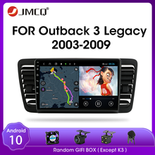 JMCQ Android 9,0 Auto Radio Für Subaru Outback 3 Legacy 4 2003-2009 Multimedia Video-Player 2 din DSP GPS Navigaion Split-Screen