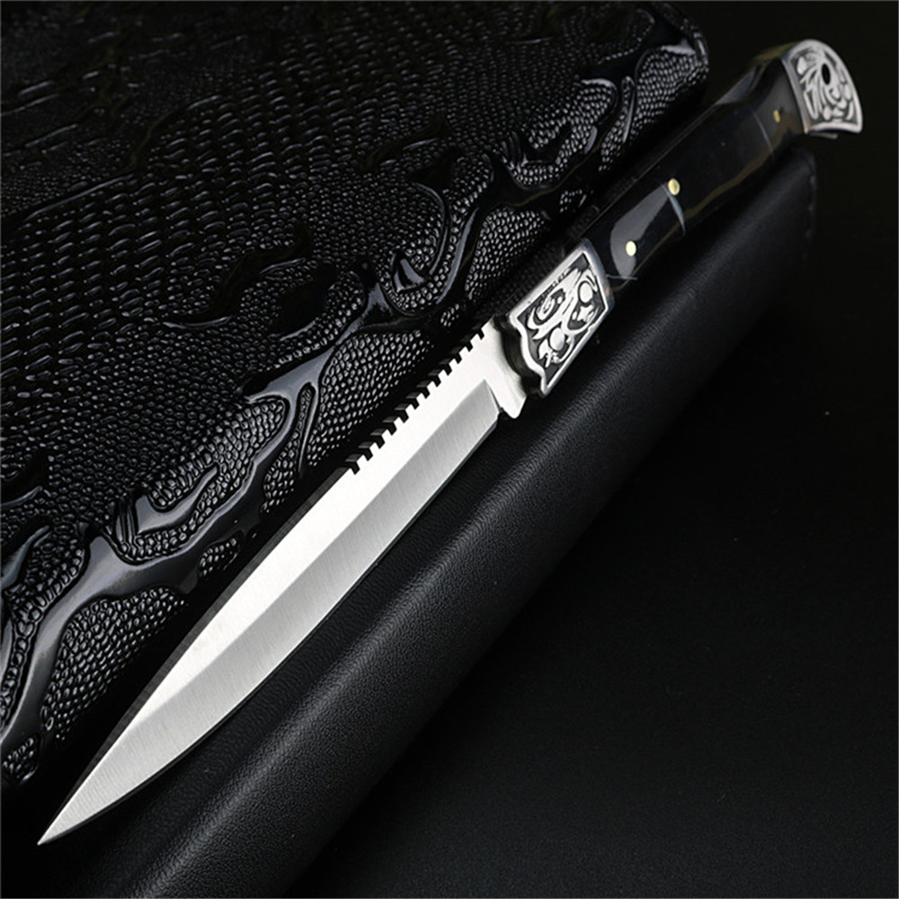 XUAN FENG Outdoor Folding Pocket Knife Tactical Hunting Knife High Hardness Army Knife Folding Knife Camping Portable Knife