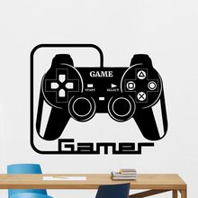 Game Handle Decal Video Game Controller Sticker Play Decal Gaming Posters Gamer Vinyl Decals Decor Mural Video Game Wall Sticker jjrc h47 2017 new elfie plus mini selfie drone with camera hd 720p wifi fpv gravity sensor altitude hold foldable quadcopter