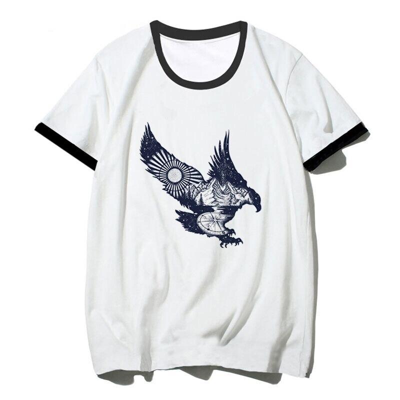 Mafioso Blessed Skate HipHop Guns Desert Eagle Crewneck Adult Mens T Tee Shirt