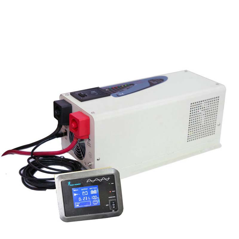high-power low frequency 3000w combined inverter & charger for commercial vehicles modified special used