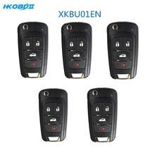 HKOBDII Xhorse VVDI Draht XK XKBU01EN 3 Tasten Universal VVDI2 Auto Schlüssel Fernbedienung für Xhorse VVDI Schlüssel Werkzeug Englisch Version
