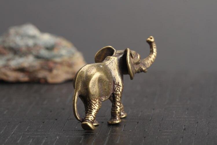 Brass Elephant Key Chains Pendants  (13)