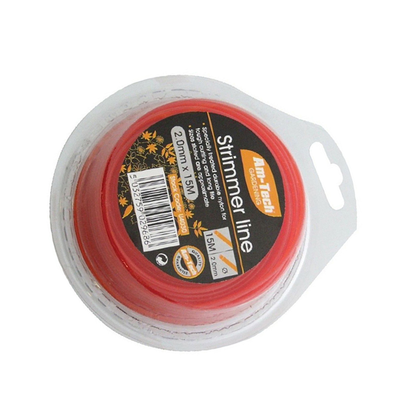 15m*2mm STRONG Strimmer Line Nylon Wire Round String Medium Electric Trimmer High Quality New Arrival