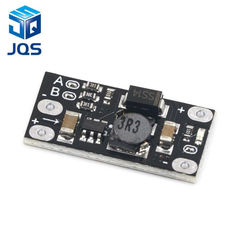 Mini DC-DC Boost Step Up Converter 3V 3.2V 3.3V 3.7V 5V 9V To 12V Voltage Regulator PCB Board Module Can Set 5V/ 8V/ 9V