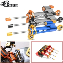 Moto CNC Motorcycle Steering Damper Stabilizer Linear Reversed Safety Control Over For Triumph DAYTONA T595 955i Daytona 675 R
