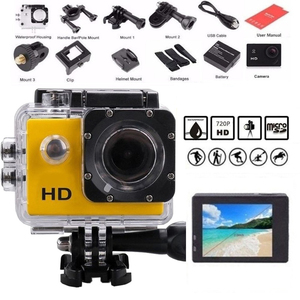 Sport Action Camera Outdoor 30M Waterproof 720P HD Mini Underwater Cameras Video Recording Helmet Extreme Professional Cam