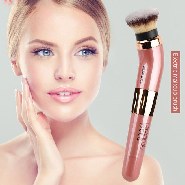 Practical Electric Puff Pore Cleaner Blush Powder Vibrating Makeup Brush Beauty Makeup Tool 1
