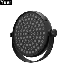 цена на 180W LED Lamp Beads 90x2W LED Par Lights RGBW 4IN1 Flat Par LED DMX512 Music Disco Lights Professional Stage Party DJ Equipment