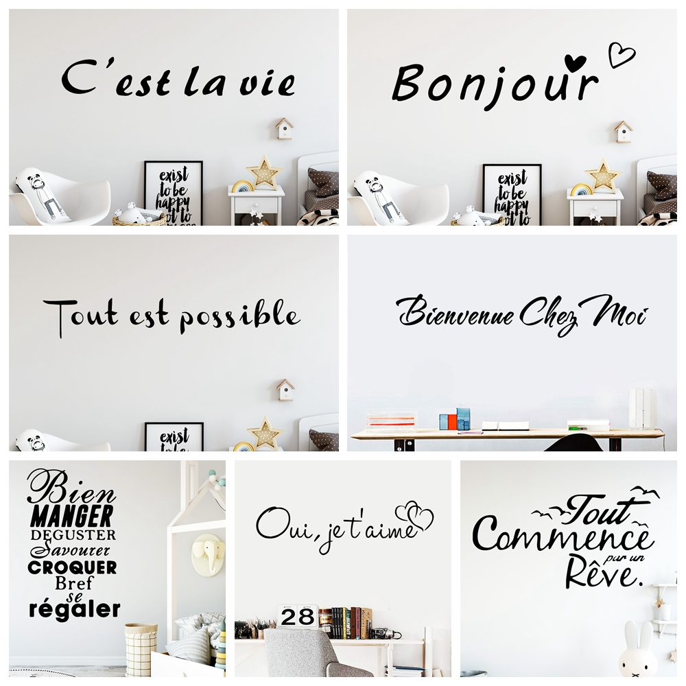 Французские обои, украшение дома, наклейка на стену для спальни, гостиной, домашний декор, настенные наклейки, водонепроницаемые обои