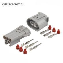 5 Sets 3 Pin Way Sumitomo TS Alternator Auto Wire Connector Electrical Headlight Plug For Toyota Lexus 6188-0282 6189-0443