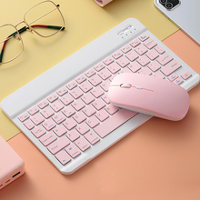 Keyboard-Mouse-Set Notebook Pc-Tablet Bluetooth Mini iPad Android Wireless USB for 10inch