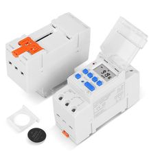 TM919A Heavy Duty Digital Time Switch Relay Timer Control Din Rail Mount Weekly 23GB no lock digital programmable timer time relay microcomputer electronic digital timer switch relay control din rail mount