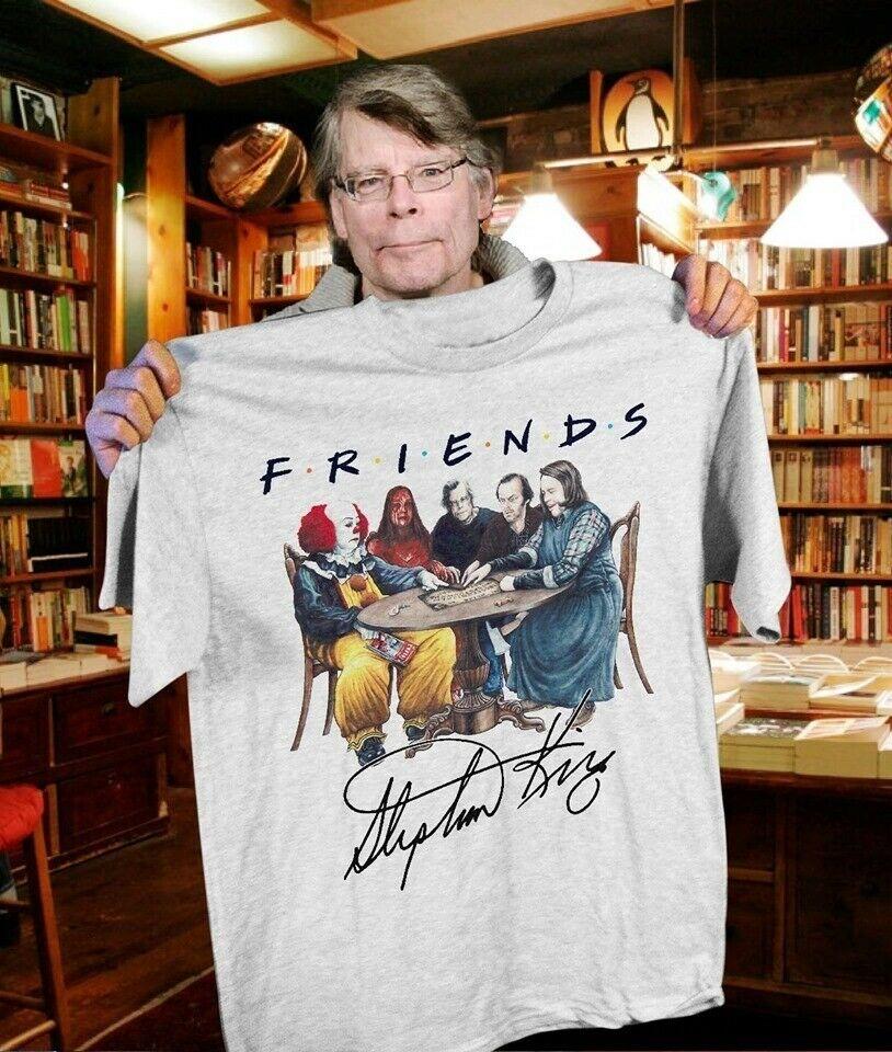 Pennywise Jack Carrie T-shirt Stephen King Horror Friends Tee Shirt Size S-3XL Michael Jackson Xxxtentacion