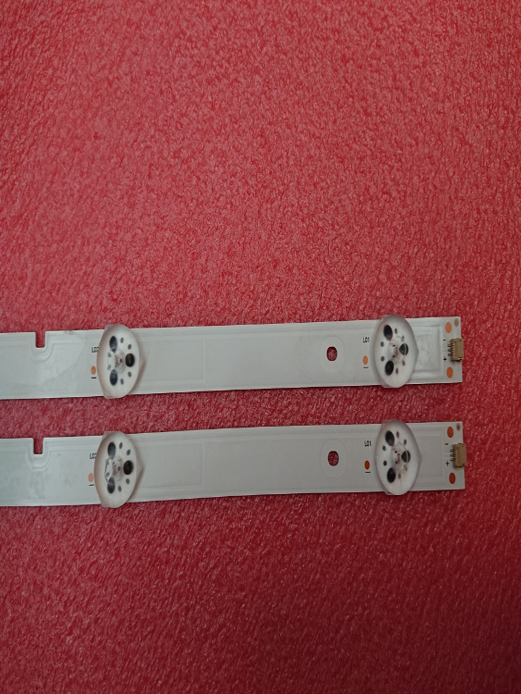 New 2 PCS/set 6LED 595mm LED backlight strip for LED32N2000 LED32EC350A JL.D32061330-003BS-M JL.D32061330-003BS-W