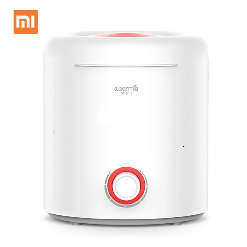 Ev Aletleri'ten Nemlendiriciler'de Xiaomi 2.5L hava nemlendirici dönen sis topuzu gümüş iyon sterilizasyon nemlendirici su difüzör Mini yatak odası ofis nemlendirici title=