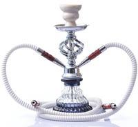 New Acrylic Hookah Set Water Pipe Shisha With Sheesha Silicone Bowl Hose Metal Tongs Chicha Narguile Cachimba Accessories