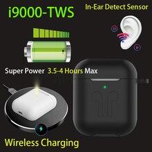 Original i9000 TWS 1:1 In-ear Blutooth Earphone Mini Wireless Earbud H1 Aire2 He