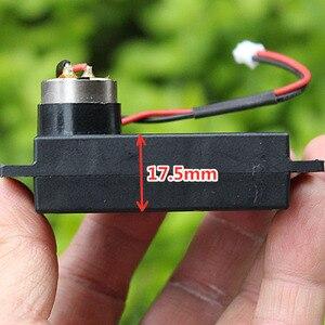 Двигатель постоянного тока 3 в-6 в, без сердечника, 3,7 В, 58 об/мин, медленная скорость, высокий крутящий момент, Цельнометаллический корпус, ред...