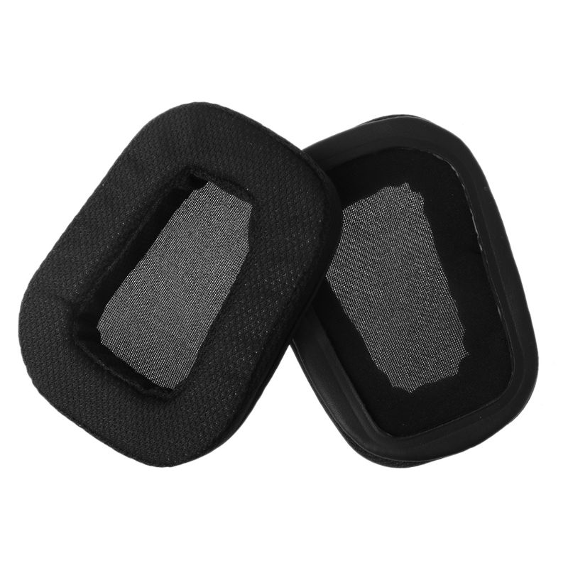 1Pair Replacement Earpads <font><b>Ear</b></font> Cushion for Logitech <font><b>G933</b></font> G633 Artemis Spectrum Surround Gaming Headset Over <font><b>Ear</b></font> Headphones 634A image