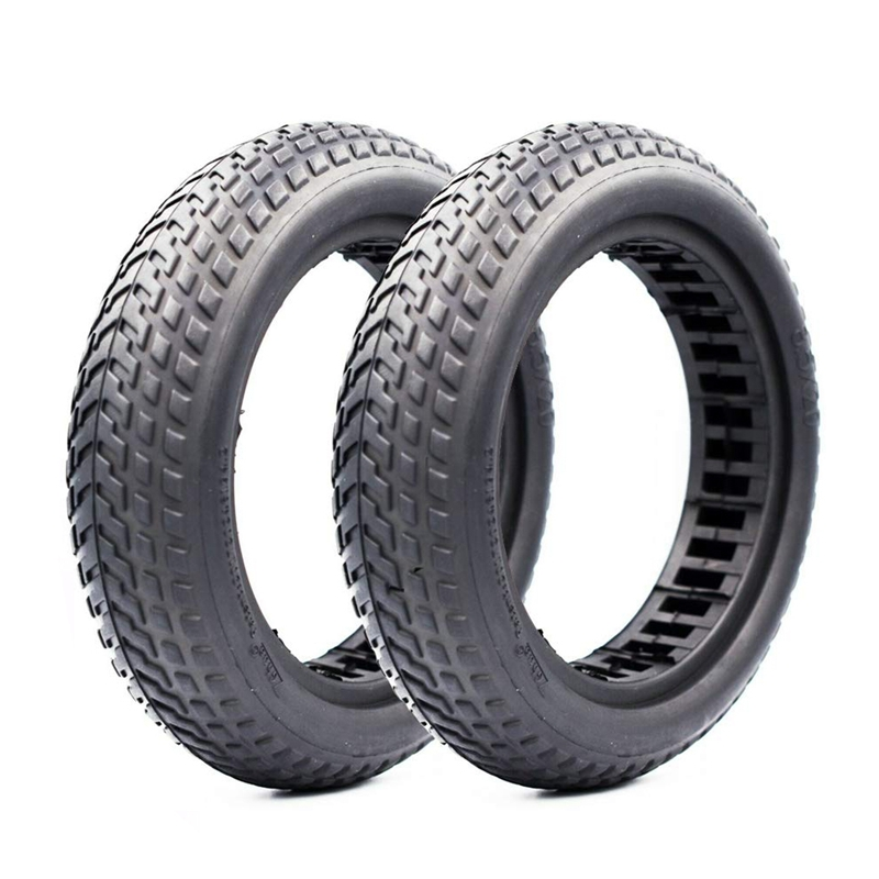 1 pair Damping Scooter Hollow Solid Tire for Xiaomi Mijia M365 Skateboard Scooter Tyre 8.5 Inch Wheel Non-Pneumatic Rubber Tyre