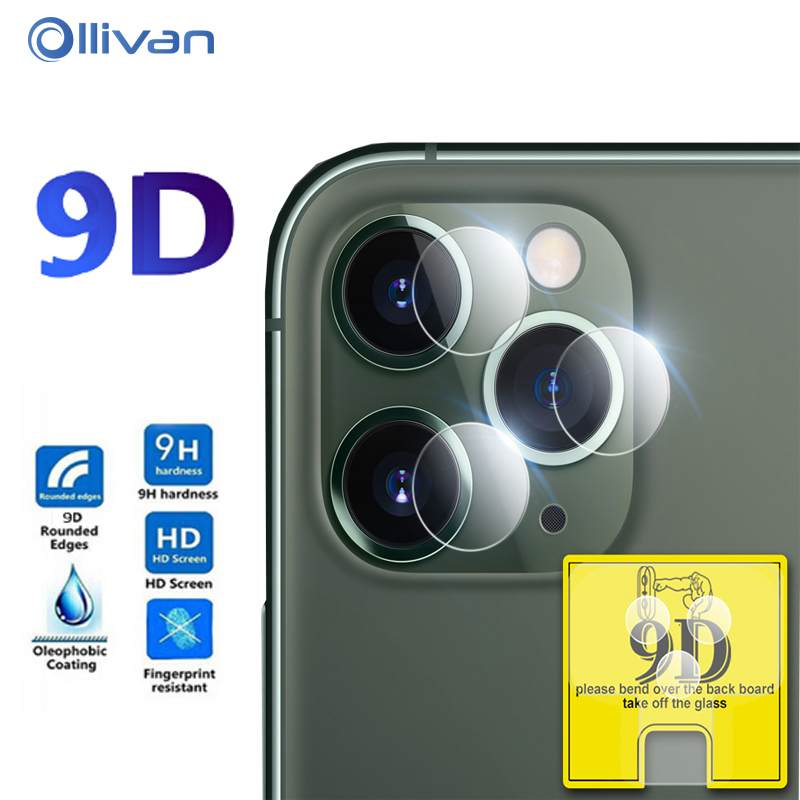 3Pcs Camera Lens Film Protective For IPhone 7 8 6 6s Plus 11 Pro XS Max XR X 9D Back Camera Screen Protector For IPhone 11Pro