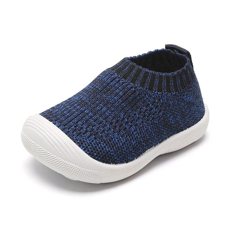 Baby Shoes Prewalker Newborn-Bebe Toddler Comfortable Girls Non-Slip Knitting Air-Fashion