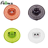 Cute Cartoon Anti-blocking Floor Drain Strainer Filter Trap Hair Stopper & Catcher Sink Filter Net Bathroom Kitchen Accessories
