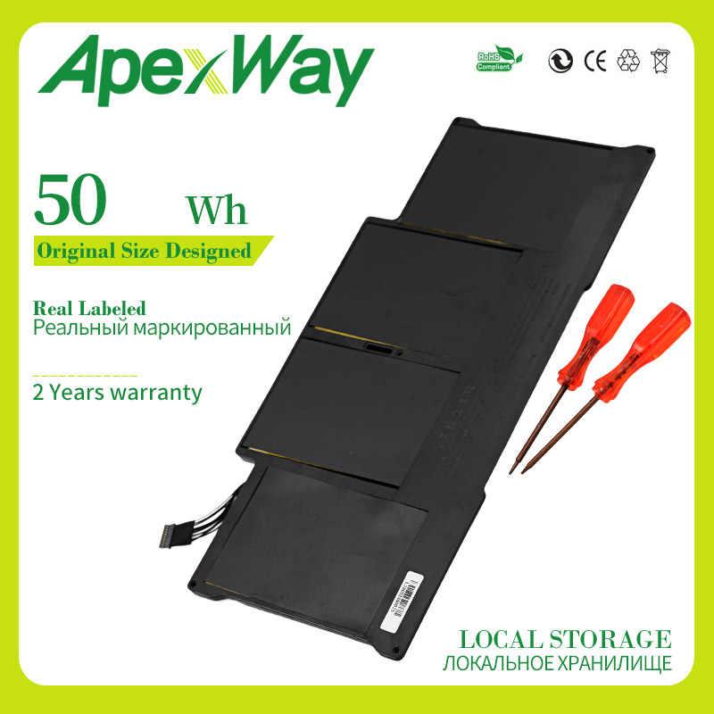 """7.3V 50wh A1405 A1496 ノートパソコンのバッテリーの Macbook Air 13 """"A1369 2011 A1466 2012 MC503 MC504 MC965 MC966"""