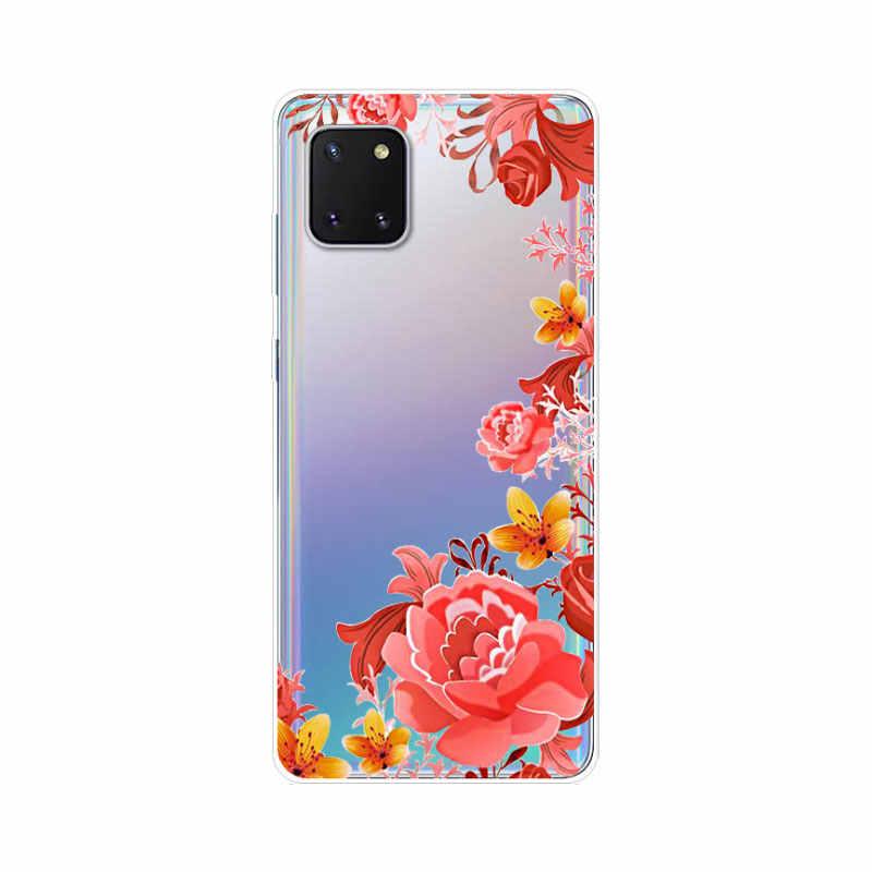 """Dành Cho Samsung Note 10 Lite 6.7 """"Động Vật Silicone Mềm TPU Bao Da Dành Cho Samsung Galaxy Note 10 Lite ốp Lưng Trong Suốt Note10 Lite"""