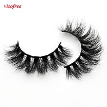 Visofree Thick Eyes Lashes Hand Make Fake Eyelashes Dramatic Volume False eyelashes 3D Lashes Cilios Mink for Makeup Tools D110