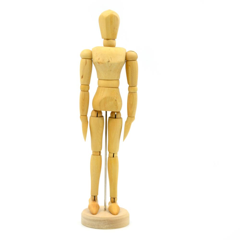 Puppets Joint Wooden Manikin With Moveable Adjustable Limbs Design Painting Sculpturing Drawing Model Mannequin