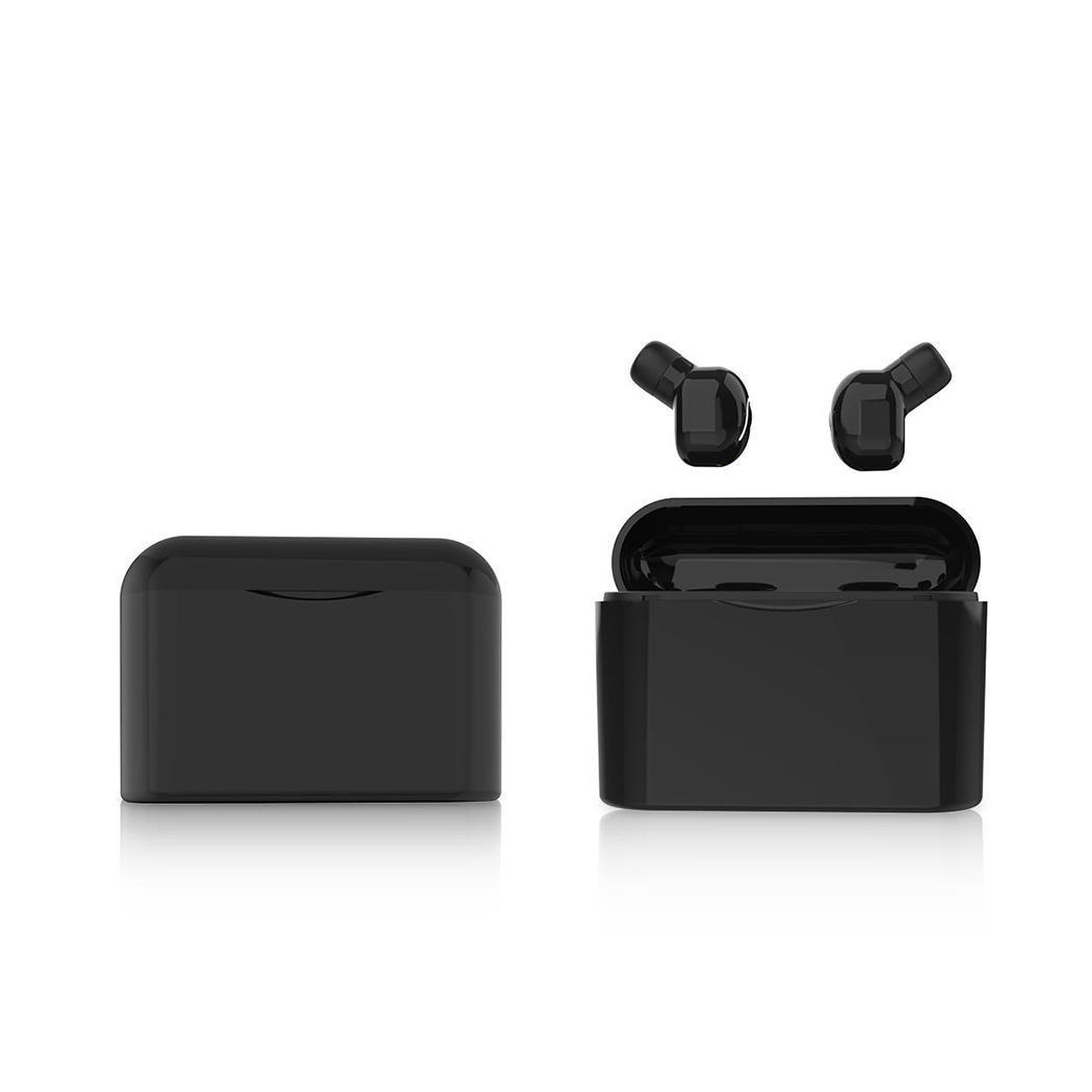 Binaural Bluetooth 5.0 Wireless Mini Earphone 5-6H with Charging V5.0 1200 mAh Earphones Kit 10m Bin 60 mAh
