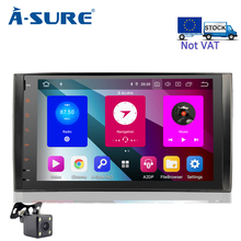 A-Sure 2 DIN 8 Core 4GB RAM Android 9.0 Car Auto Radio GPS DVD Player Stereo For Mercedes-Benz A/B Sprinter Vito Viano VW Crafte eunavi octa core android 8 0 car dvd for mercedes benz r class w251 r280 r300 r320 r350 gps radio stereo 4gb ram 32gb rom