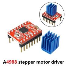 цена на 3D Printer Board Parts A4988 Stepper Motor Driver With Heat sink Carrier Reprap RAMPS 1.4 1.5 1.6 MKS GEN V1.4 board StepStick