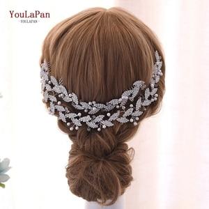 YouLaPan Wedding Hair Comb Accessories Bridal Rhinestone Hair Pins International Bun Hair Clips Wedding Bridal Hair Comb HP251(China)