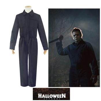 Horror Movie Halloween /Michael Myers/ Cosplay Carnival Adults Men /Women Jumpsuit Clothing Halloween Costumes ralph macchio michael mike marts x men the movie 1tru a