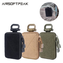 Tactical Molle Pouch First Aid EDC Pouch Medical Organizer Pouch Military Wallet Small Bag Hunting Accessory Vest Belt Equipment