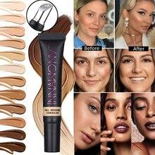 Concealer Cream Long Lasting Mineral Foundation Matte Base Makeup Cover Eye Dark