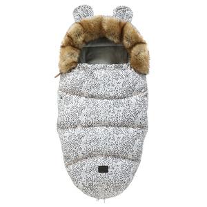 Image 4 - Baby Sleeping Bag For Stroller Baby Carriage Sack Pram Footmuff Warm Winter Changing Diaper Envelope For Newborn Baby Cocoon