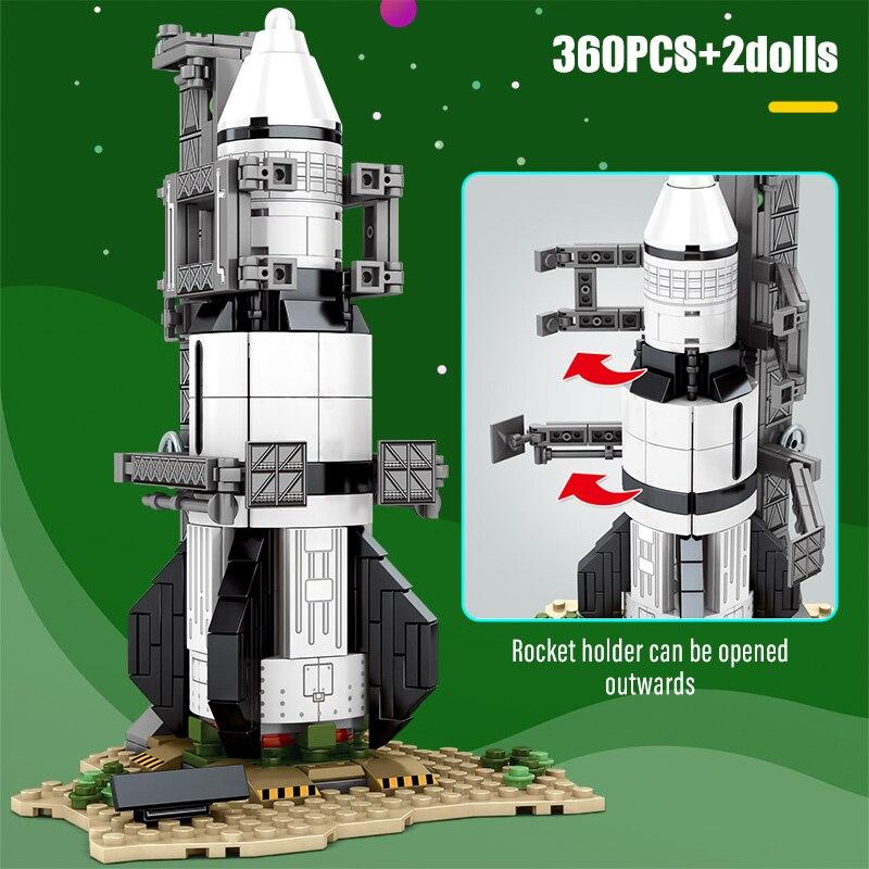 SEMBO Super Cute Rockets Building Blocks