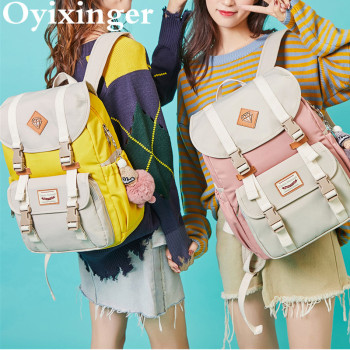 Girls Youth Fashion Backpack For Teenage Girls Backpacks Student Children Bag Women Campus Laptop Backpacks Junior School Bags cute clear transparent women backpacks pvc jelly color student schoolbags fashion ita teenage girls bags for school backpack new