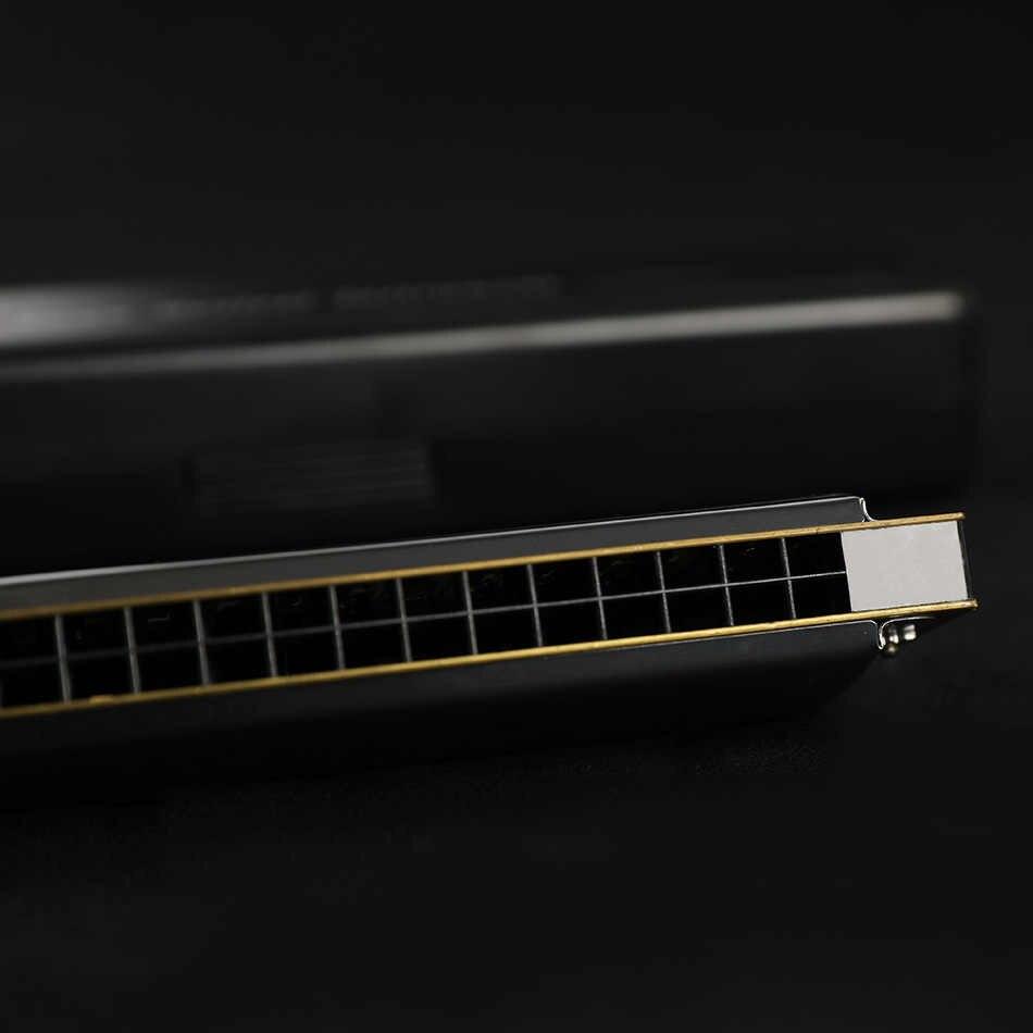 Swan harmonijka 24 Hole C klucz Strees harmonijka nie Tremolo Instrument muzyczny Instrument muzyczny Harmonica Swan harmonijka