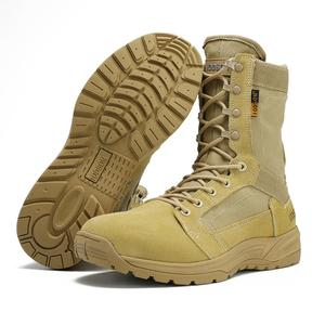 Image 5 - IODSON Outdoor Military Tactical Boots Mens Breathable Desert Combat Ankle Boots Autumn Military Shoes Three Colors