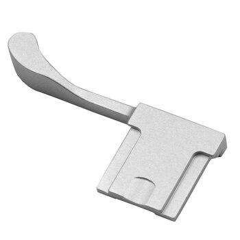 Metal Hot Shoe Cover Thumb Grip for Fujifilm Fuji X100F X100T X70 X30 X-E3 X-A1 X-A2 X-A3 X-A5 X-M1 XA3 XE3 Silver