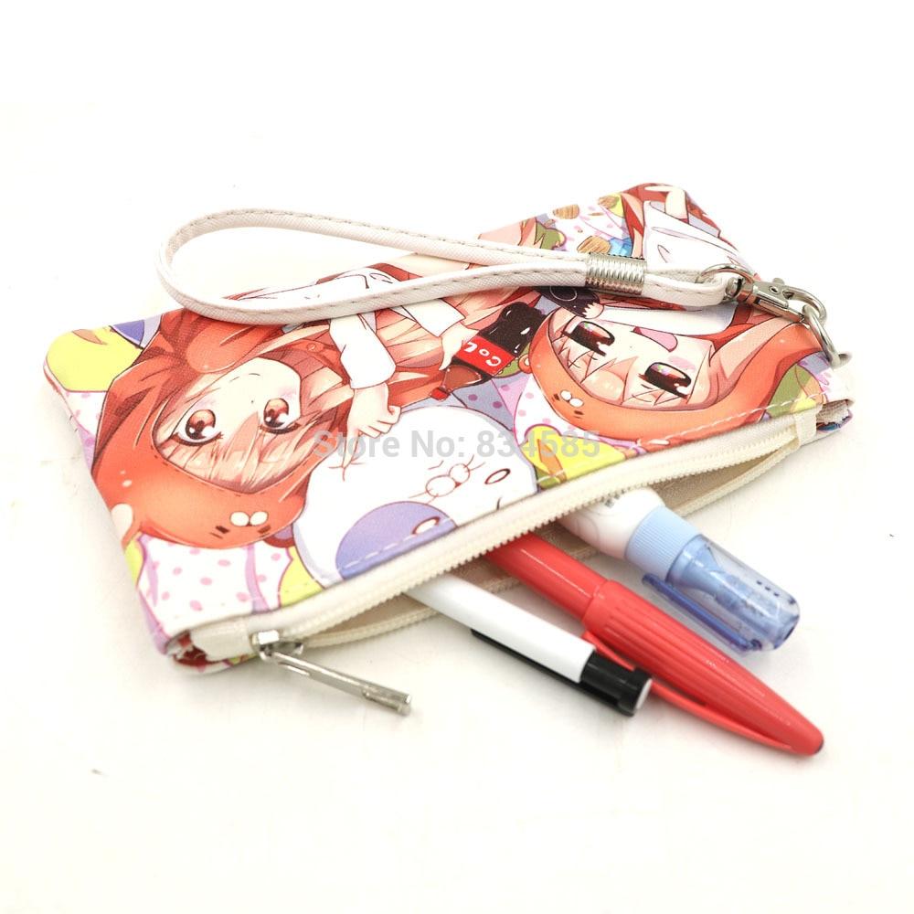 Anime Himouto Umaru-chan Scroll Pen Bag Stationery School Cosplay Pencil Case