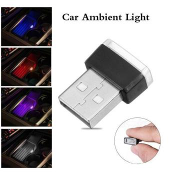 1PC Car USB Atmosphere Light Auto Mini USB Light LED Modeling Light Car Ambient Light Neon Light Car Interior Car Accessories image