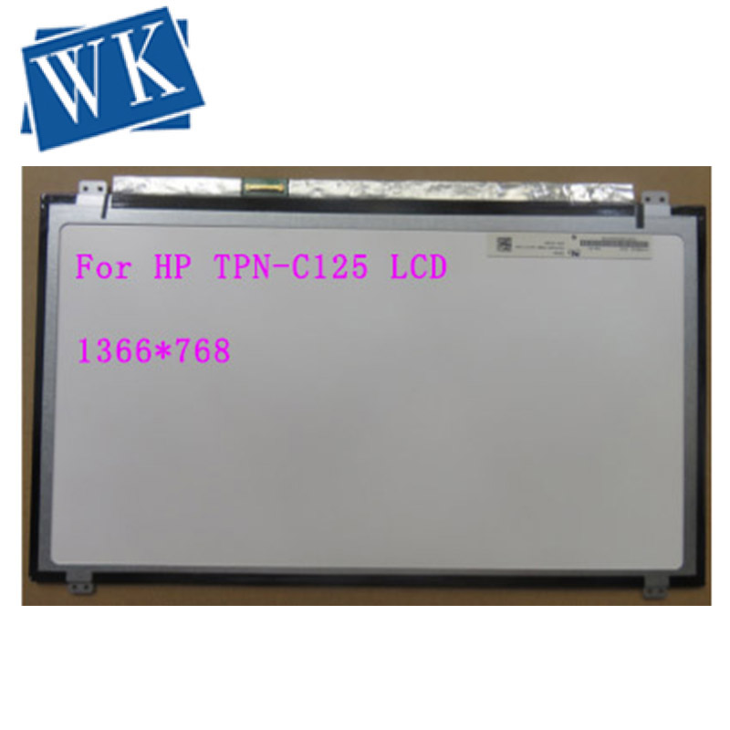 For HP TPN-C125 TPN C125 Laptop LCD Screen N156BGE-E31 1366*768 HD 30pin EDP LED Display
