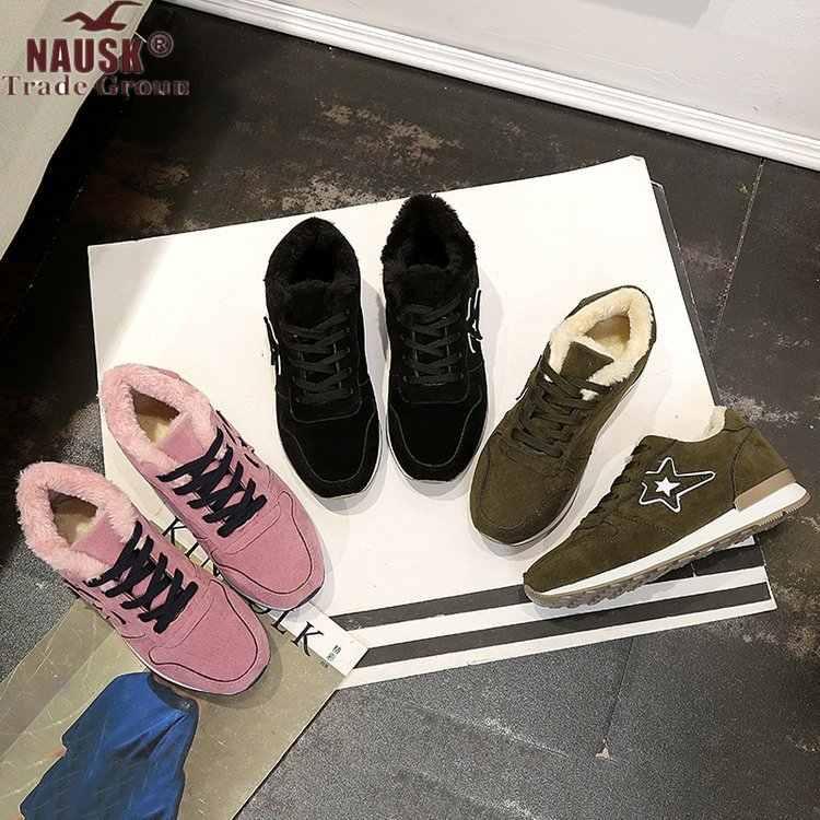Laarzen Vrouwen Elastische Enkel Pig Suede Brogue Laars Echt Leer Kwaliteit Merk Dame Schoenen Handgemaakte Zapatos De Mujer Laarzen